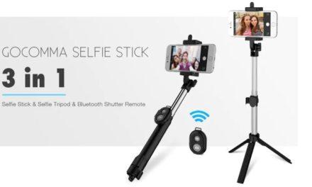 Gocomma Selfie Stick Tripod – Ha kell egy segítő kar