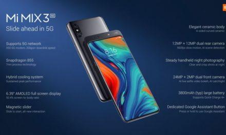 Xiaomi Mi Mix 3 5G – Nagyobb sebességre kapcsolva