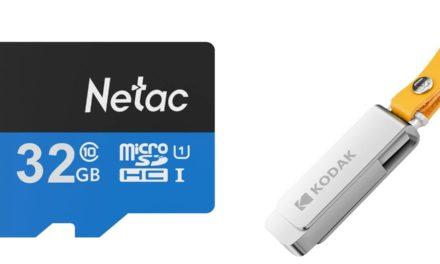 Mindig kell, pláne ennyibe: 32GB microSD 1400-ért, 128GB peni 4800 ft-ért