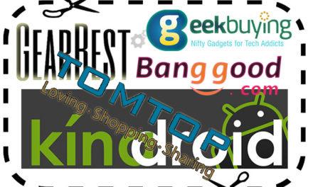 GearBest, Geekbuying, Banggood kuponkódok (2019.03.16)