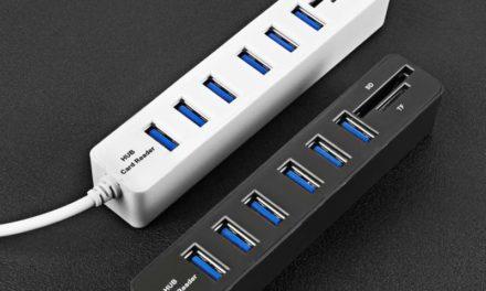 COMBO JDL-HSD8 USB Hub – Filléres USB elosztó és kártyaolvasó