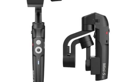 MOZA Mini S összecsukható gimbal – profi videók mobillal (frissítve)