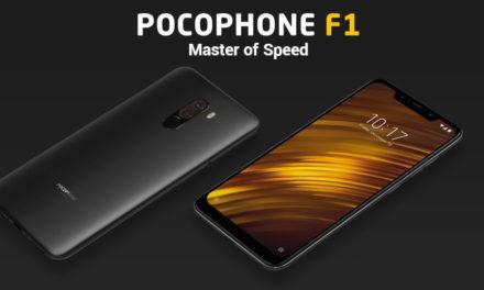 Érkezőben a szintemelő frissítés a Xiaomi Pocophone F1-hez