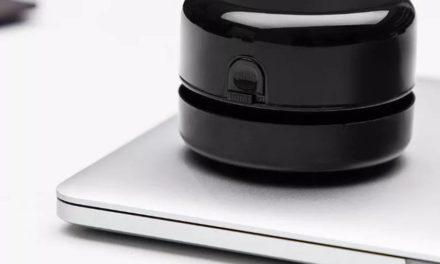 XIAOMI NUSIGN asztali mini robotporszívó: félig vicc, félig komoly