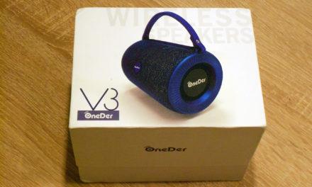 OneDer V3 bluetooth hangszóró – dübörgő csodahenger?