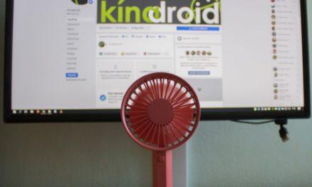 Xiaomi VH Small Fan teszt – Lágy szellők fújdogálnak