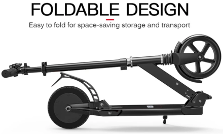 E9 8 colos elektromos roller – nem szükségszerű, hogy drága legyen!