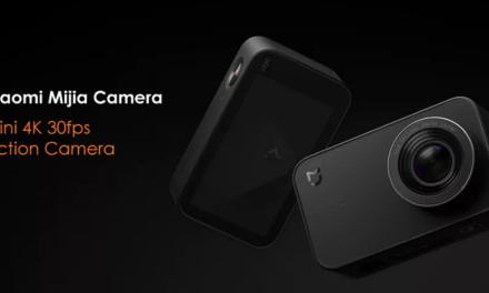 Xiaomi Mijia Mini 4K Camera Sony IMX317 szenzorral