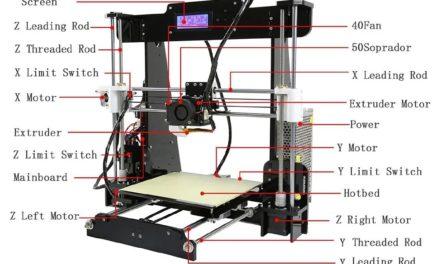 Anet 3D nyomtató pillanatok alatt német raktárból (olcsóbb lett)