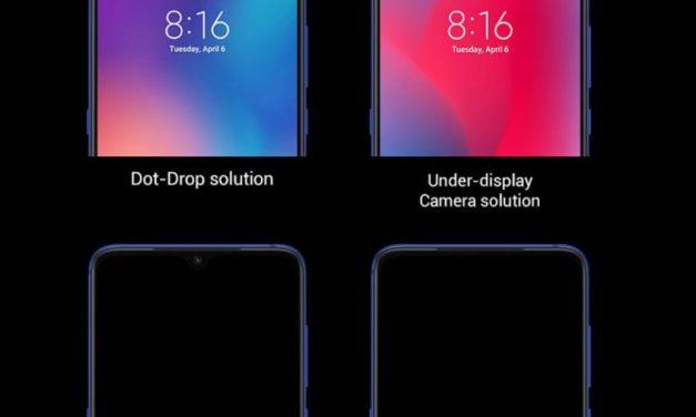Xiaomi – Újabb terv a notchmentes világért