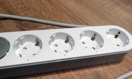 Kipróbáltuk: KMOON 4 konnektoros/USB-s okoshosszabbító