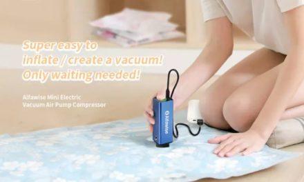 Alfawise Mini Electric Vacuum Pump Compressor – ne kézzel kelljen pumpálni
