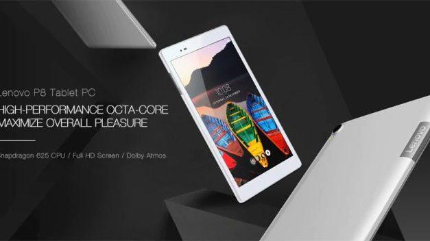 LTE verziós Lenovo P8 Tab 3 8Plus a mindennapokra