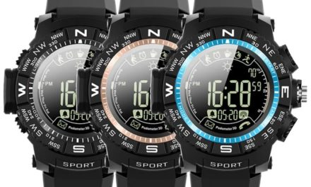 ioutdoor P10 Smart Watch – Filléres okosóra nagy tudással