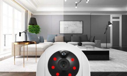 Home Security 1080P WiFi Camera – Pásztázzunk 360 fokban
