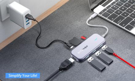 Kipróbáltuk: Blitzwolf BW-TH5 7-in-1 hub – USB-C-ből mindent!