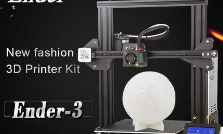 Creality 3D nyomtató villámgyorsan, német raktárból (olcsóbb lett)