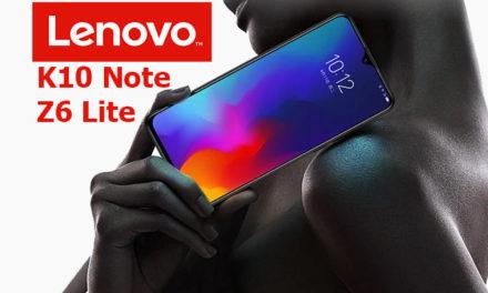Kipróbáltuk: Lenovo Z6 Lite/K10 Note – ilyet? ennyiért?