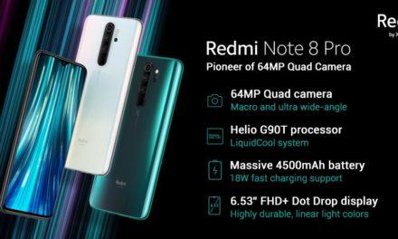 Jelentősen csökkent a Xiaomi Redmi Note 8 Pro ára is