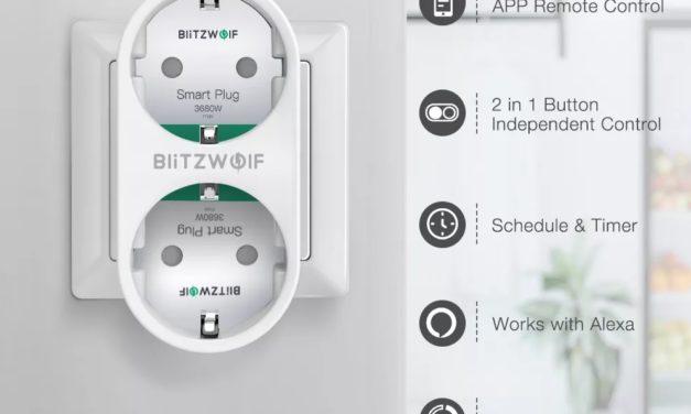 Kipróbáltuk: BlitzWolf BW-SHP7 okoskonnektor-duó