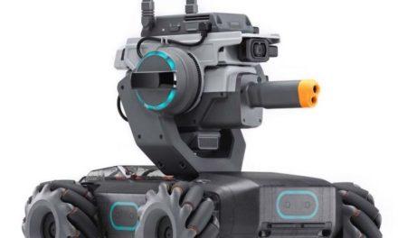 DJI Robomaster S1 – Intelligens oktatórobot harmadáron!
