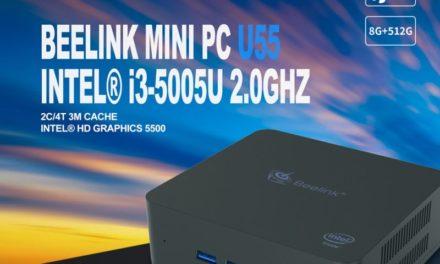 Beelink U55 mini PC – Nem csak netezéshez, akár karácsonyra is!