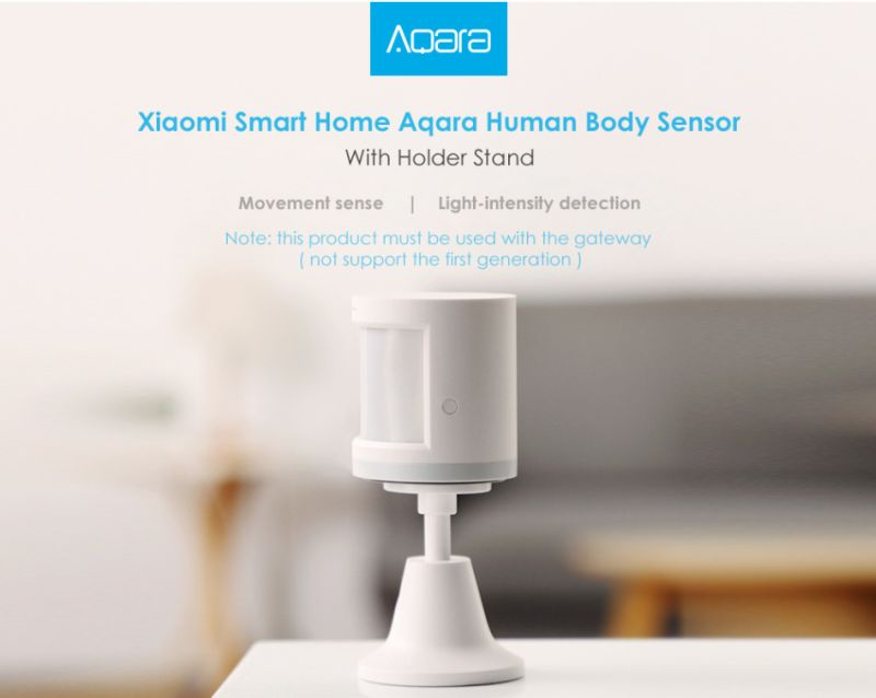 Okos otthon –9. rész –XiaomiAquara mozgásérzékelő–Érezda testet