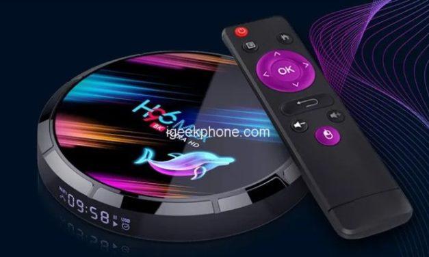 H96 Max X3 – TV okosító discmannek álcázva