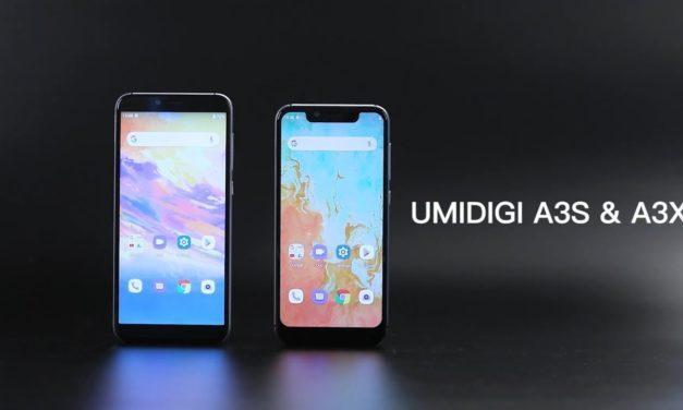 Fillérekért kelleti magát az UMIDIGI A3S és A3X