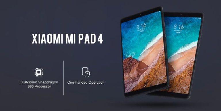 Xiaomi Mi Pad 4 – az androidos tabletek krémje
