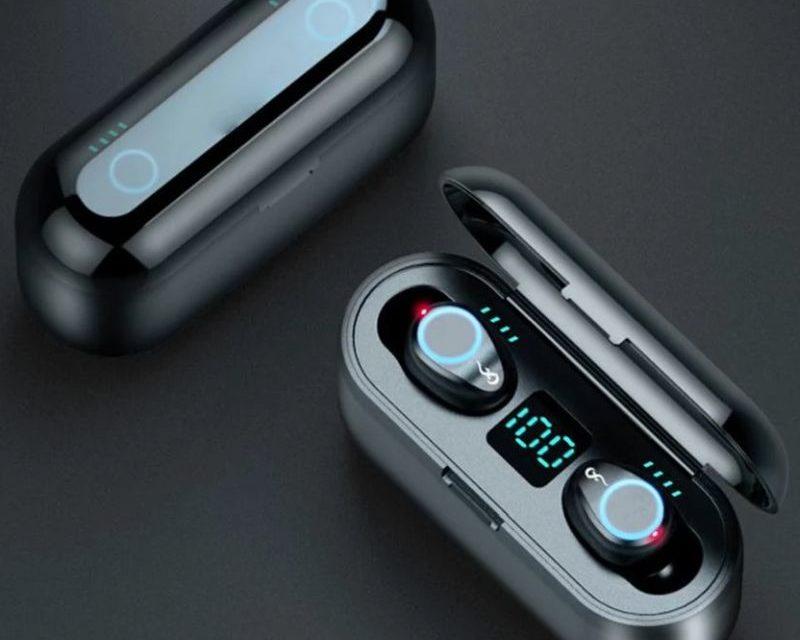 AMOI F9 Bluetooth-os fülhallgató – észrevétlenül ül a füledben
