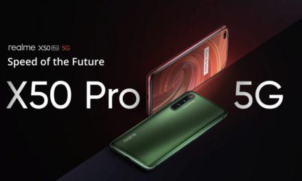Indiában debütált a Realme X50 Pro 5G