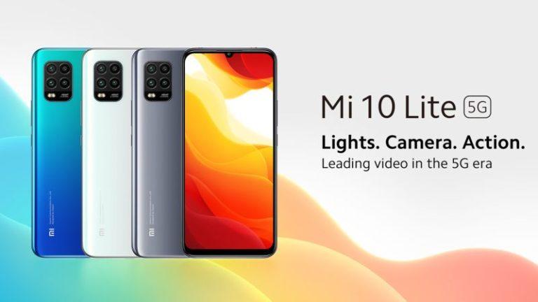 Európában debütál a Xiaomi Mi 10 Lite 5G!