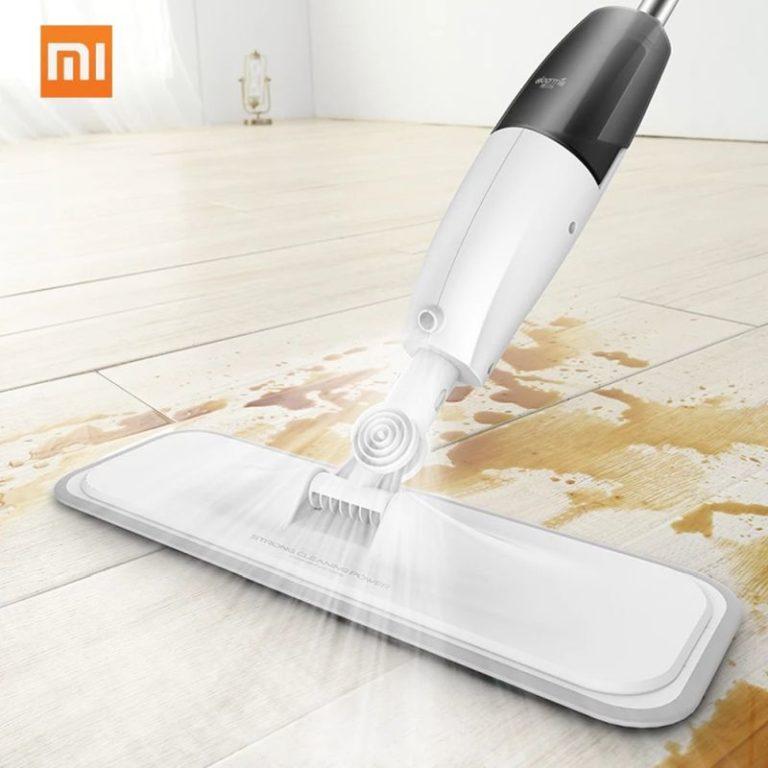 Xiaomi Mijia Deerma vízpermetes mop - olcsóbban, német raktárból!