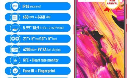 Vernee V2 Pro IP68 – Bear Grylls telefonja