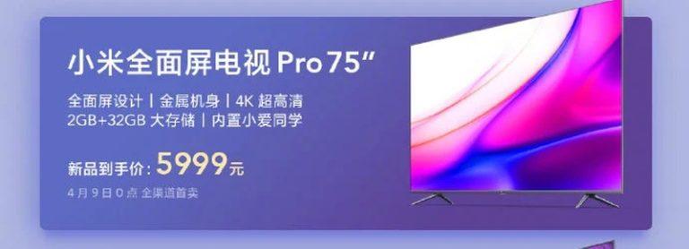A Xiaomi két televíziót is bemutatott a nagyközönségnek