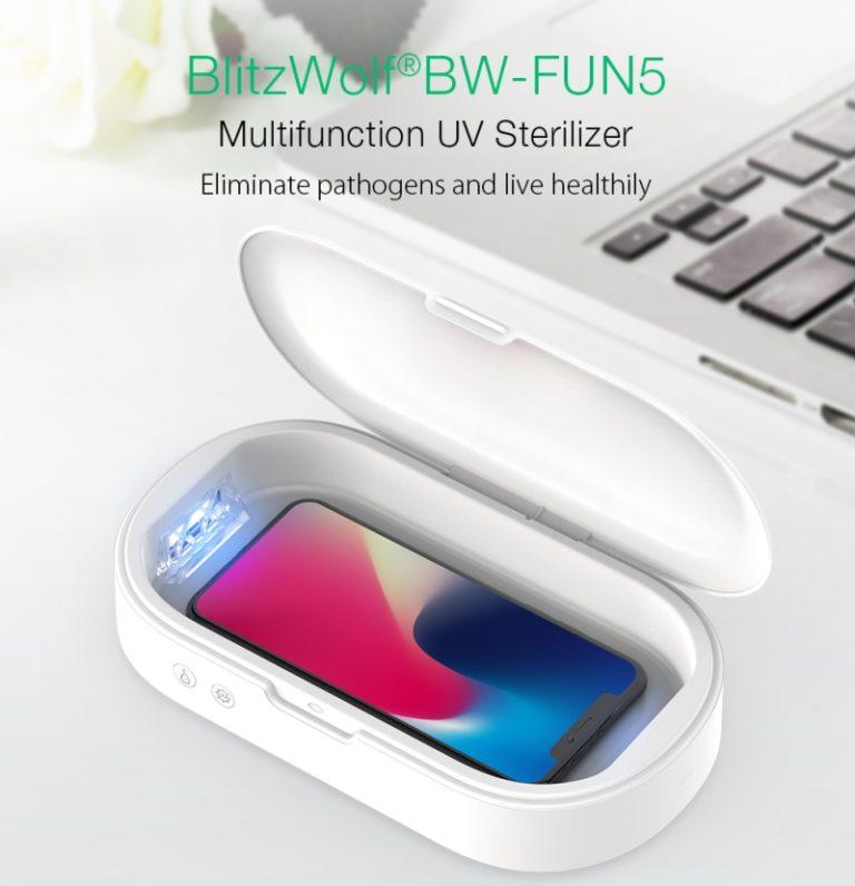 BlitzWolf UV sterilizáló doboz – Jobb, mint a Domestos
