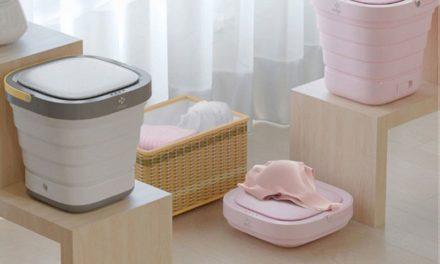 Moyu összecsukható mosógép – Tiszta ruha bárhol, percek alatt