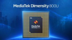 A MediaTek bejelentette a Dimensity 800U lapkakészletét