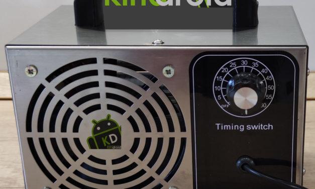 Kipróbáltuk: O3 ózongenerátor – steril környezet otthon és az autóban