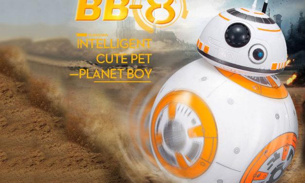 Távirányítós BB8 figura – Star Wars fanoknak kötelező!