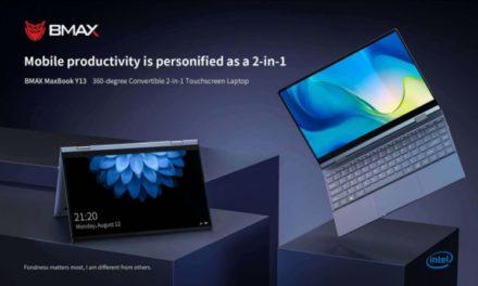 BMAX Y13 Laptop – Kijelzővel együtt fordul a világ