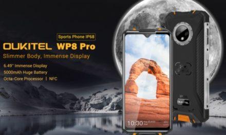 Oukitel WP8 Pro – Előrendelésben parádés áron