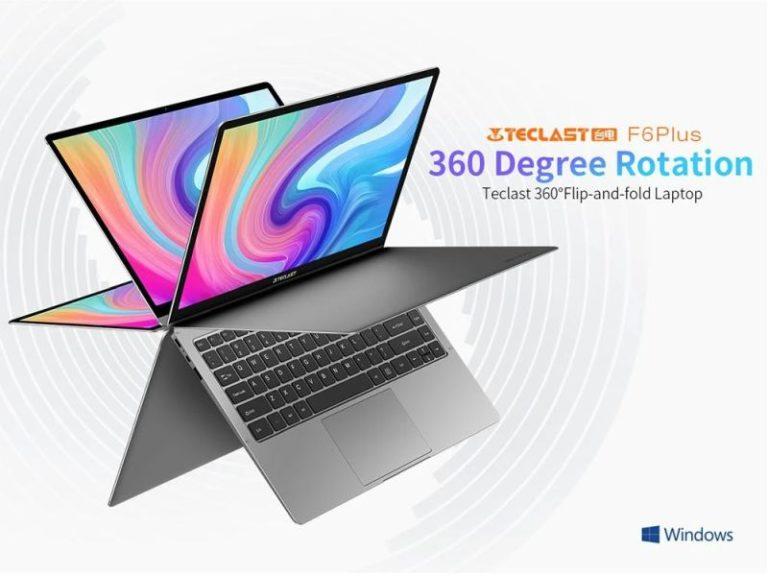 """Teclast F6 Plus 13,3"""" laptop – Érzékeny az érintésre"""
