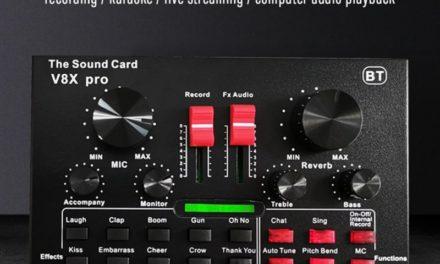 V8X Pro külső hangkártya – Nem csak számítógéphez ajánlva