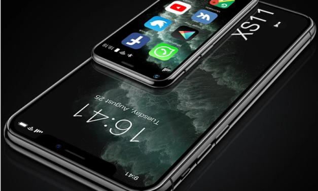 SOYES XS11 – tenyérnyi okostelefon, szinte ingyen – ha sietsz!