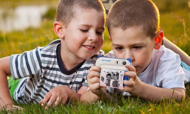 BlitzWolf BW-DP1 – Fényképezőgép gyereknek, azonnali nyomtatással