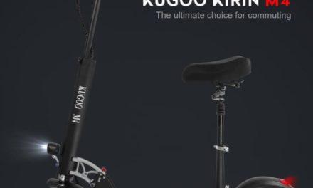 KUGOO KIRIN M4 elektromos roller – Suhanj haza a kijárási tilalom előtt