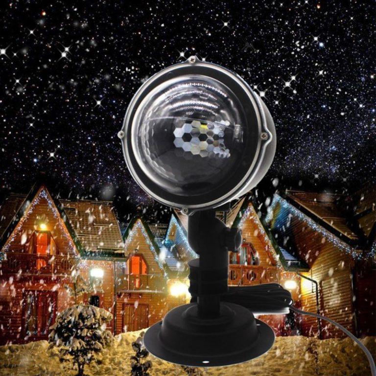 Hóesés vetítő projektor – Legalább a ház fala vetítsen téli hangulatot