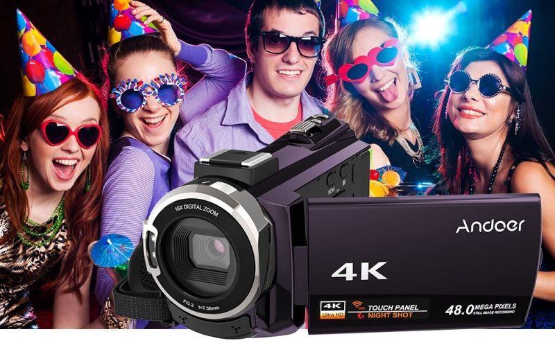 Andoer 4K videókamera – kicsit csalóka a név, de jó áron van